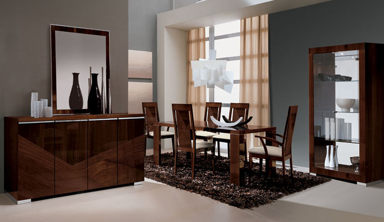 Alf Italia Furniture Modern Italian Dining Table